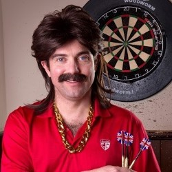 Jody Kamali Is Mike Daly – Darts and All