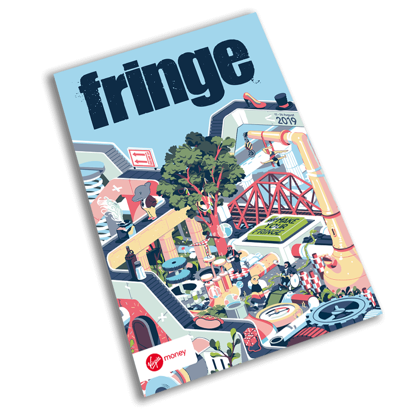 The 2019 Fringe Programme cover