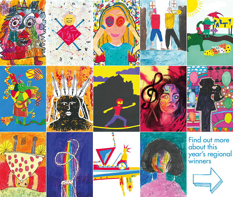 The 2018 Schools Poster Competition regional winners